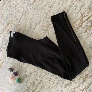 Cabi Pointe Leggings Zipper Cuff